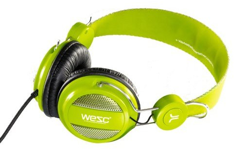 casque wesc lime
