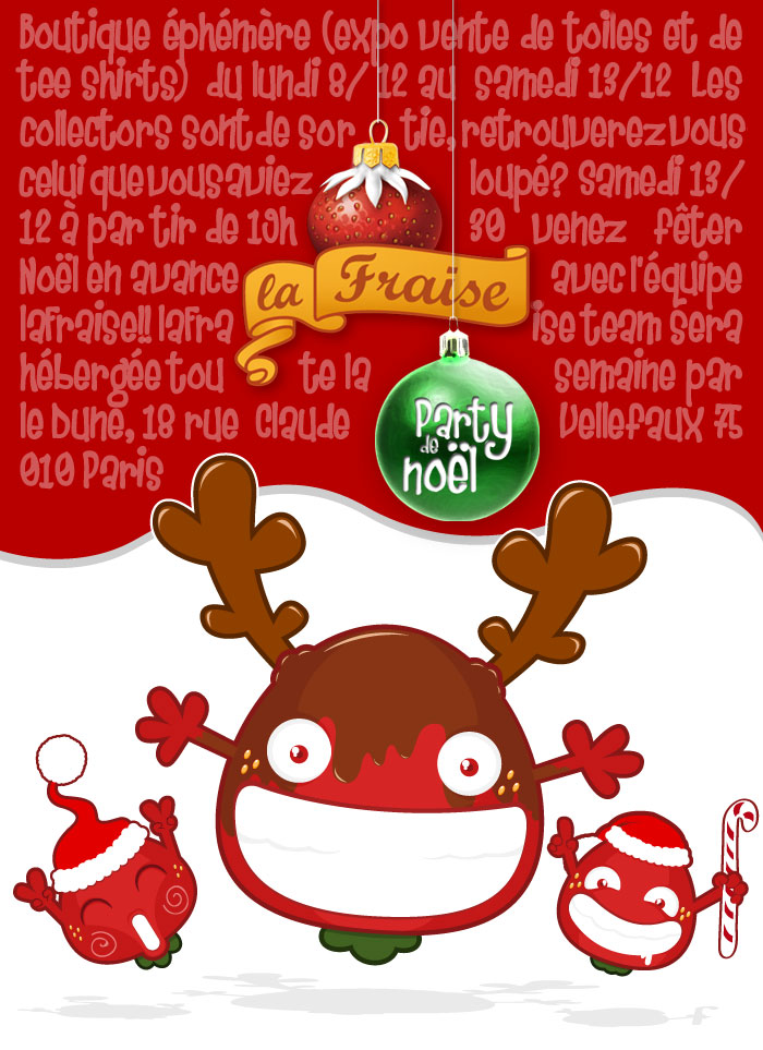 Link to La Fraise Party de Noël