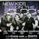 Les New Kids On The Block à Paris…