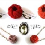 Les bijoux en laine de Miss Tinguette!