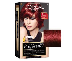 mais - L Oreal Coloration Rouge