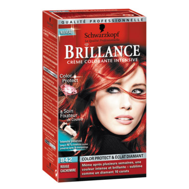 schwarzkopf coloration rouge cachemire - Shampoing Colorant Rouge