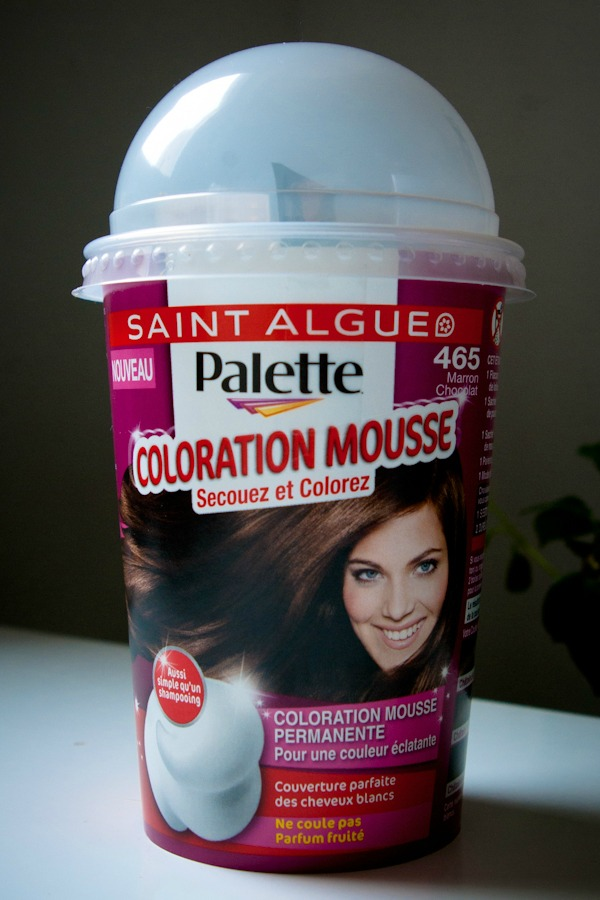 saint algue palette coloration mousse marron chocolat - Coloration Mousse Saint Algue
