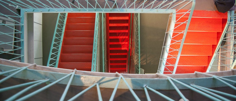 Atomium Escalier Details