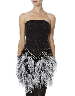 robe bustier manoush plume brandalley