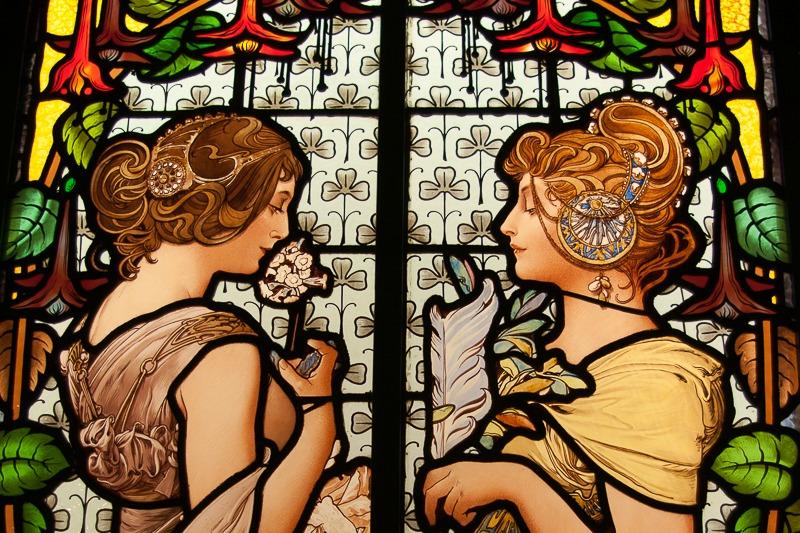 Barcelone-musee-du-modernisme-vitrail-1