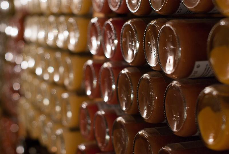 alain milliat bouteille jus de fruits