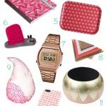 Une sélection shopping tout en rose!