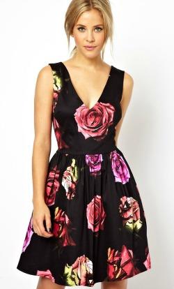 robe mariage asos fleur tenue
