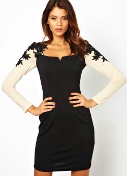 Tenue mariage robe fourreau asos little Mistress