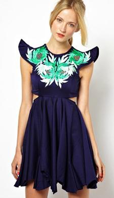 tenue-mariage-robe-createur-bleu-Alice-McCall