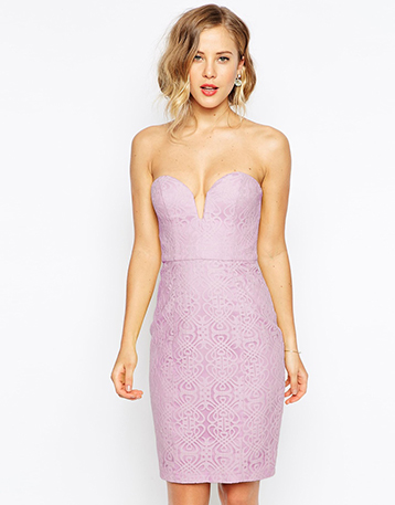 robe-bustier-mauve-mariage