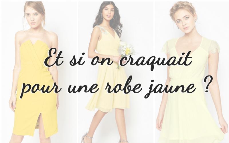 A la recherche d 39 une robe jaune pour un mariage d 39 t for Robe pour un mariage en mai