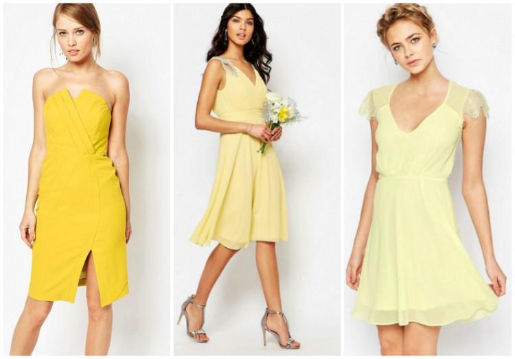 A la recherche d 39 une robe jaune pour un mariage d 39 t for Robe jaune pour mariage
