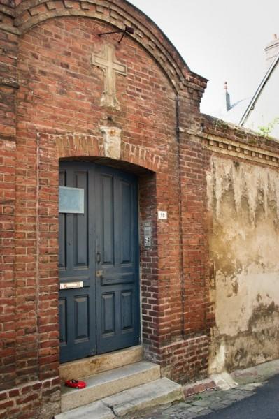 Porte d'une maison d'Honfleur