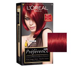 Avoir les cheveux rouges larcenette - Coloration rouge vif ...