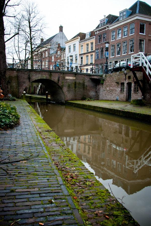 utrecht canal Nieuwegracht