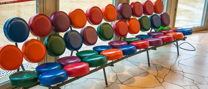 Atomium Canape Vintage