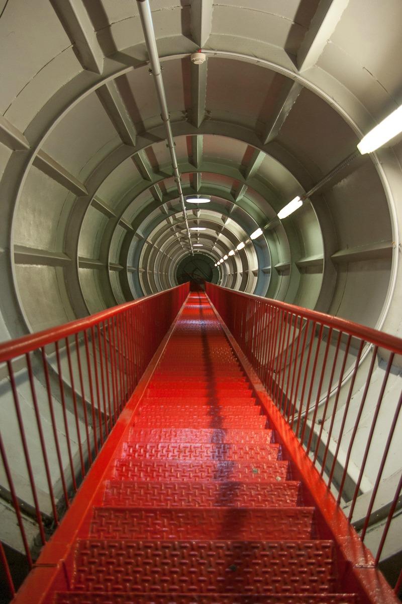 Atomium Sortie de secours