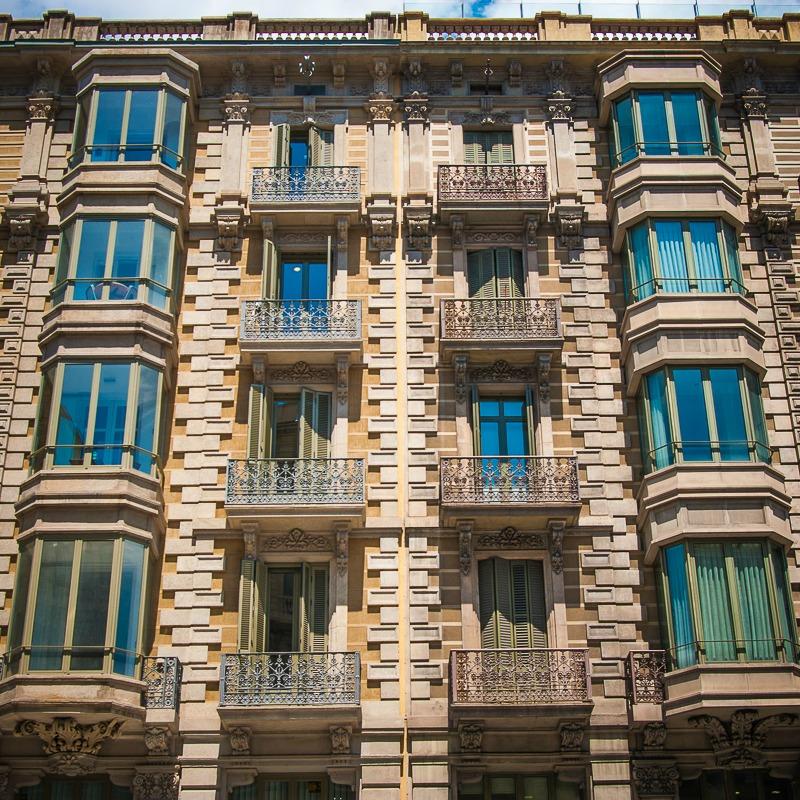 barcelona facades barcelone