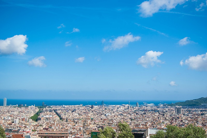 Barcelone-gaudi-park-guell-7
