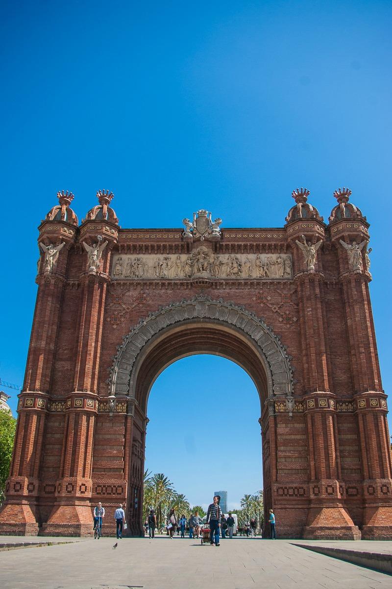 arc-de-triomphe-barcelone