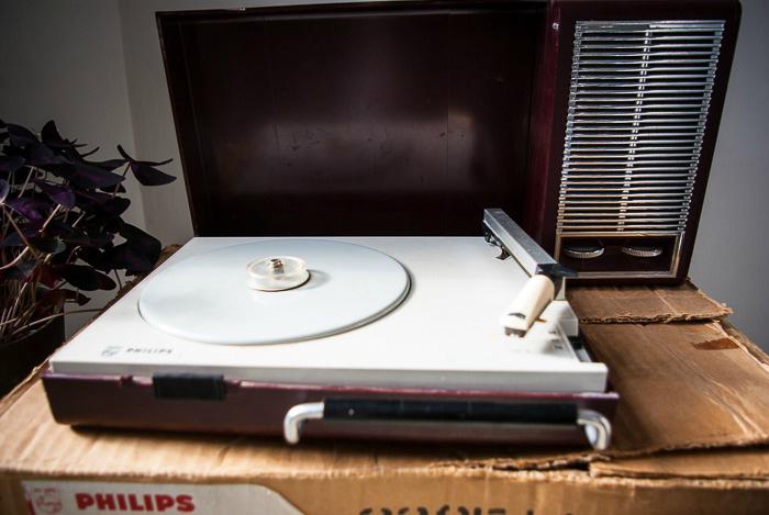 Platine vinyl Philips gf110