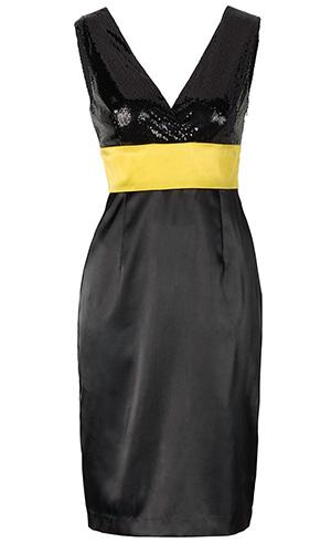 robe nouvel an noire zalando
