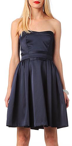 robe-bustier-bleu-mariage