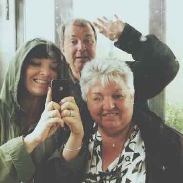 selfie au musee soulages