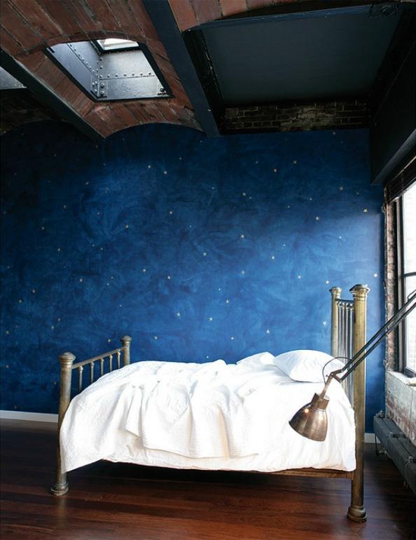 la chambre bleue larcenette. Black Bedroom Furniture Sets. Home Design Ideas