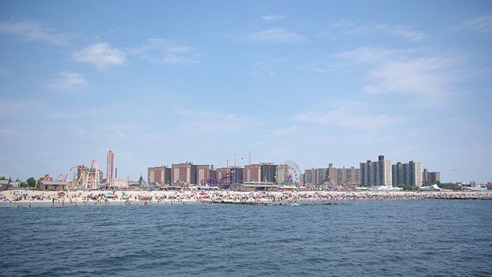 New-york-plage-coney-island-panoramique
