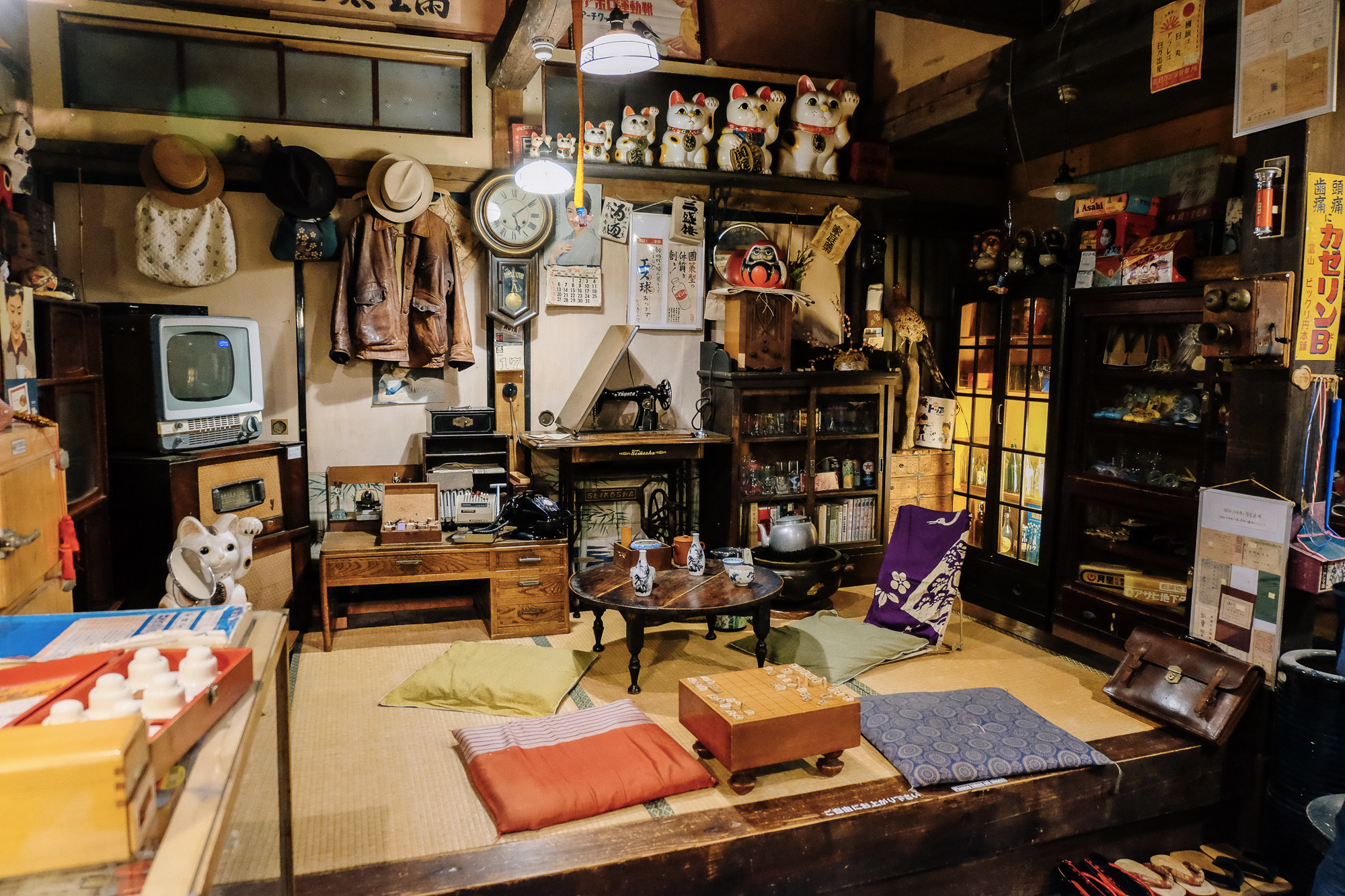 Musee vintage à Takayama