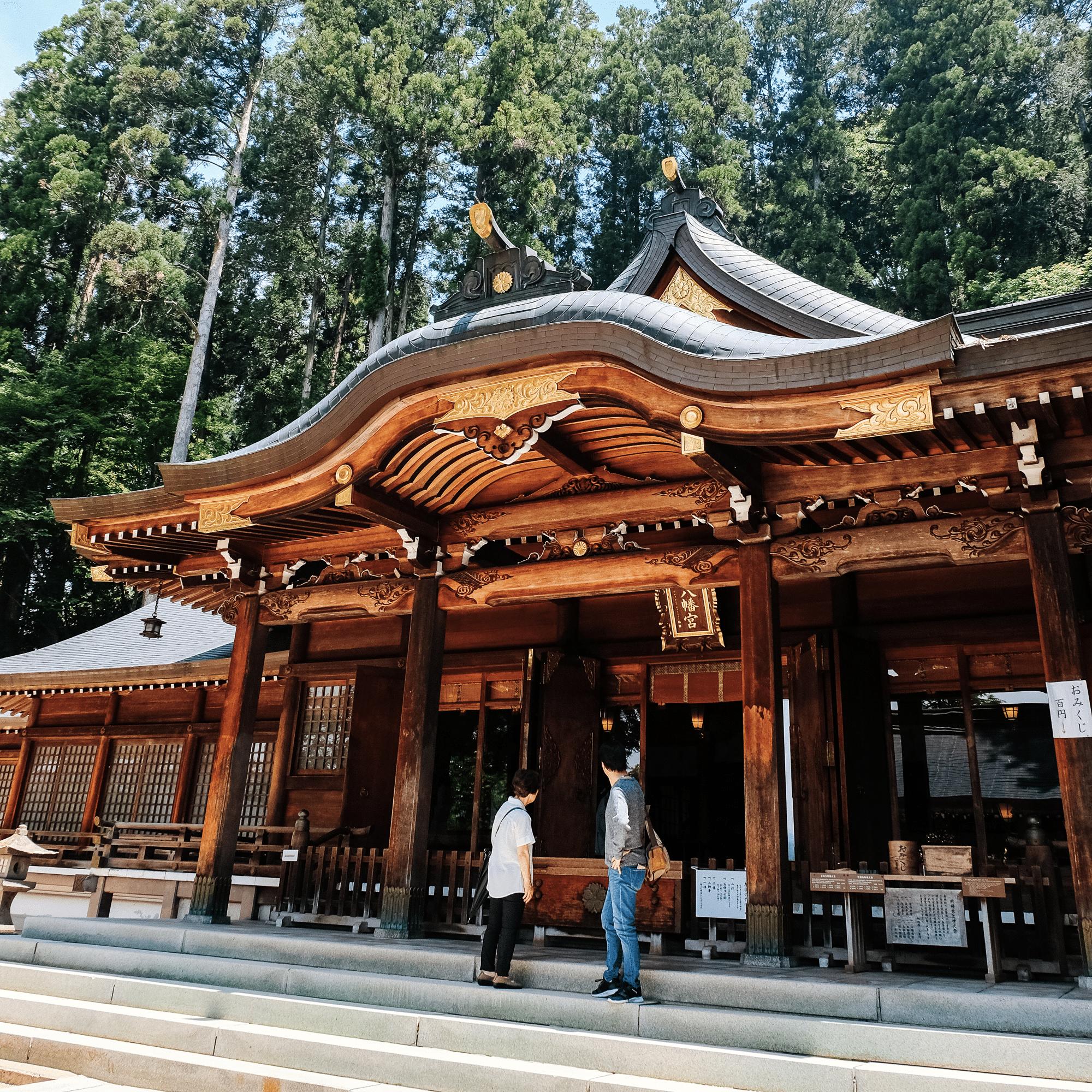 Sakurayama Hachimangu temple takayama