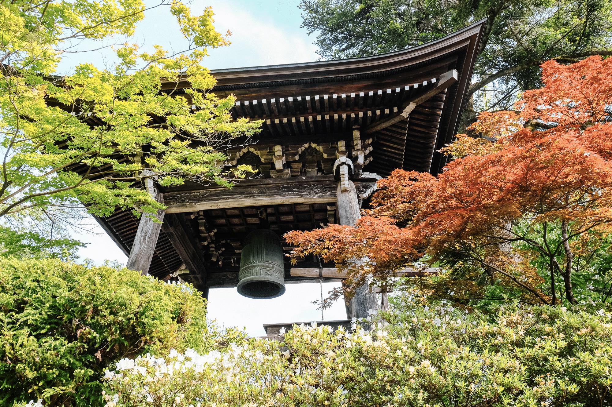 Cloche temple takayama