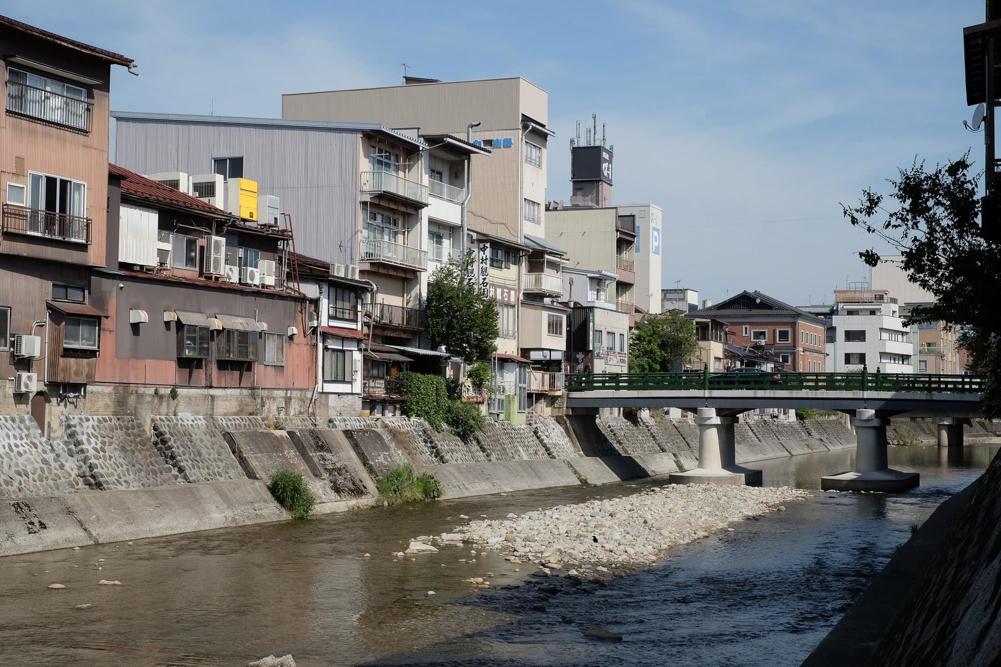Miya-gawa riviere à takayama