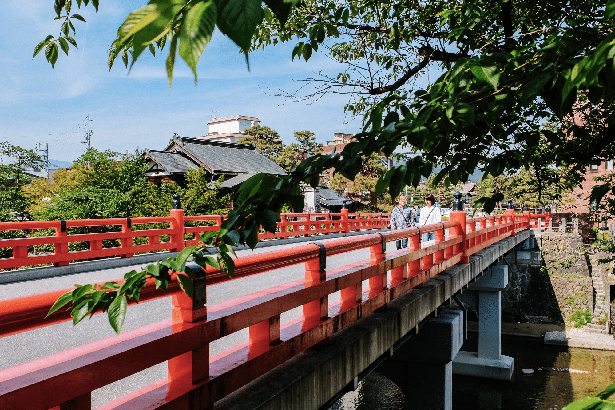 Pont rouge Takayama