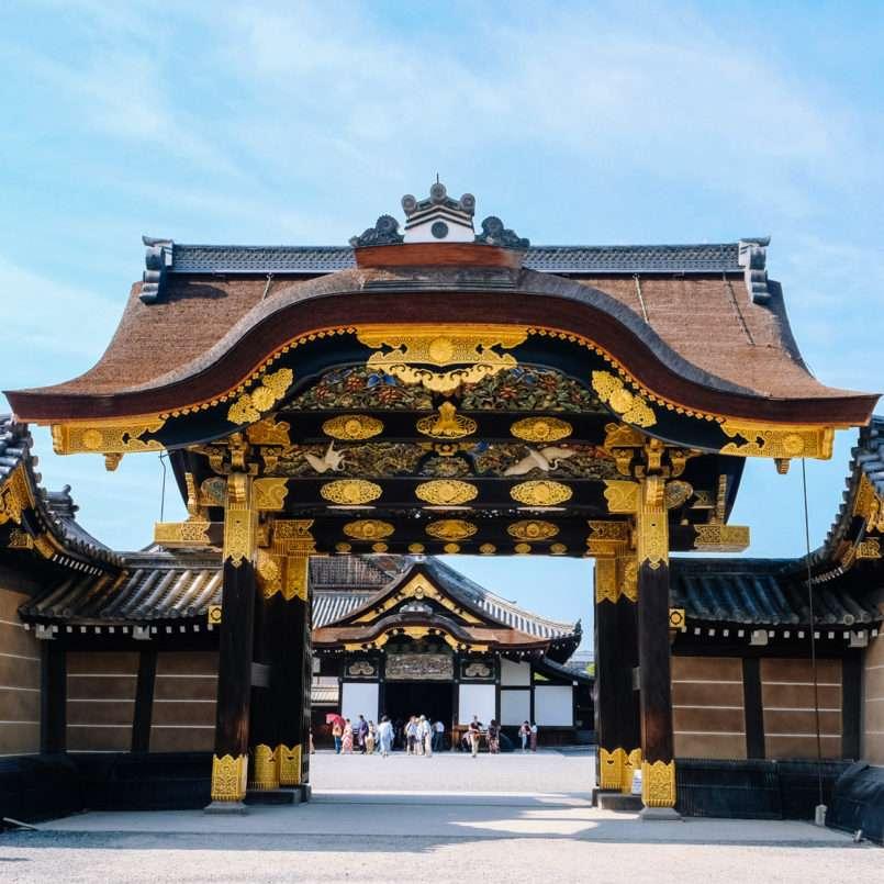 Porte du Chateau Nijo-Jo à Kyoto